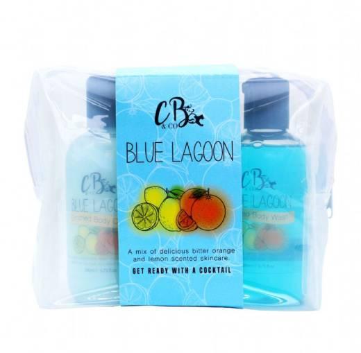 Blue Lagoon Cocktail Set