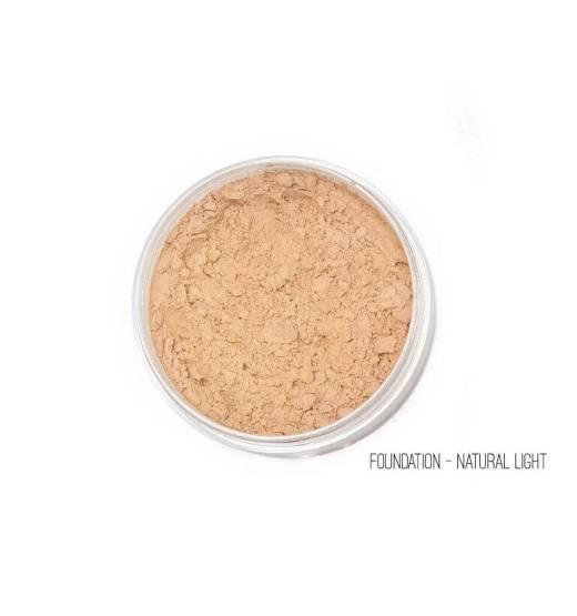 Mineral 5in1 Foundation & πινέλο Kabuki Ανοιχτή απόχρωση